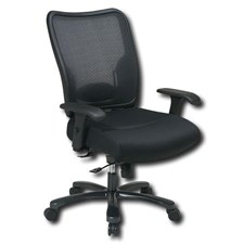 Ergonomic Chair with Double Air Grid Back and Mesh Seat